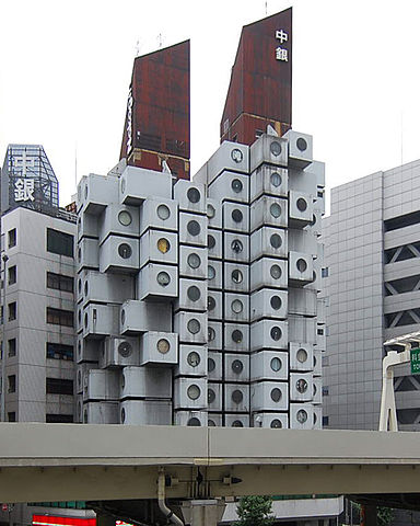 Nakagin Capsule Tower01