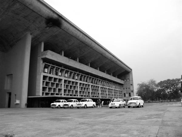 Th Corbu Chandigarh Palais Justice