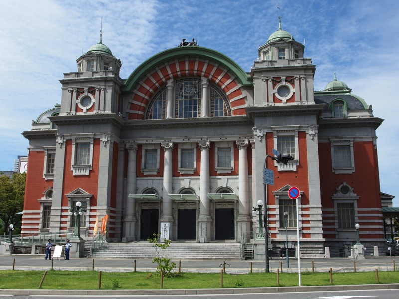 Osaka Central Public Hall in 01